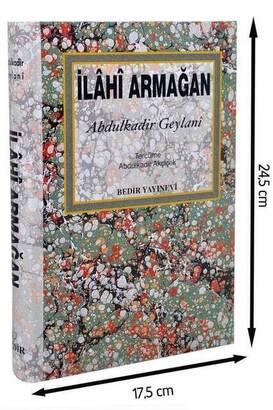 Bedir Yayınevi - İlahi Armağan - Abdulkadir Geylani-1547