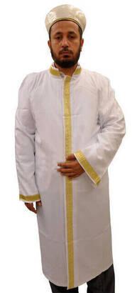 İhvan - İmam Cübbesi - Namaz Cübbesi - Erkek Namaz Elbisesi 12
