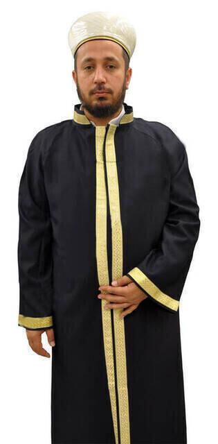 İmam Cübbesi - Namaz Cübbesi - Erkek Namaz Elbisesi 14