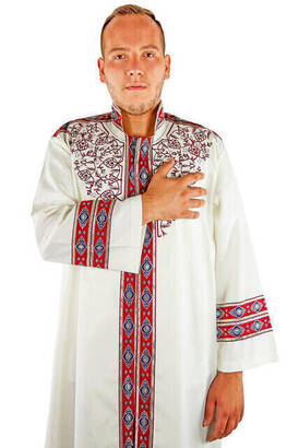 İmam Cübbesi - Namaz Cübbesi - Erkek Namaz Elbisesi - 15