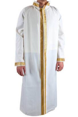 İhvan - İmam Cübbesi - Namaz Cübbesi - Erkek Namaz Elbisesi 5 - İç Cepli Cübbe