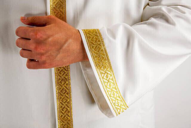 İmam Cübbesi - Namaz Cübbesi - Erkek Namaz Elbisesi 5 - İç Cepli Cübbe
