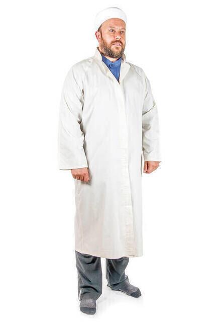 İmam Cübbesi - Namaz Cübbesi - Erkek Namaz Elbisesi 6