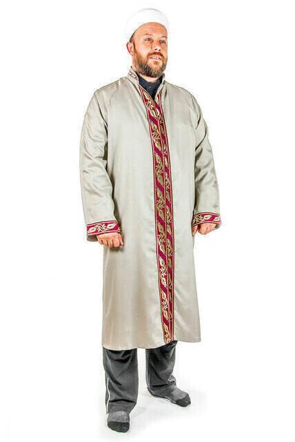 İmam Cübbesi - Namaz Cübbesi - Erkek Namaz Elbisesi 7