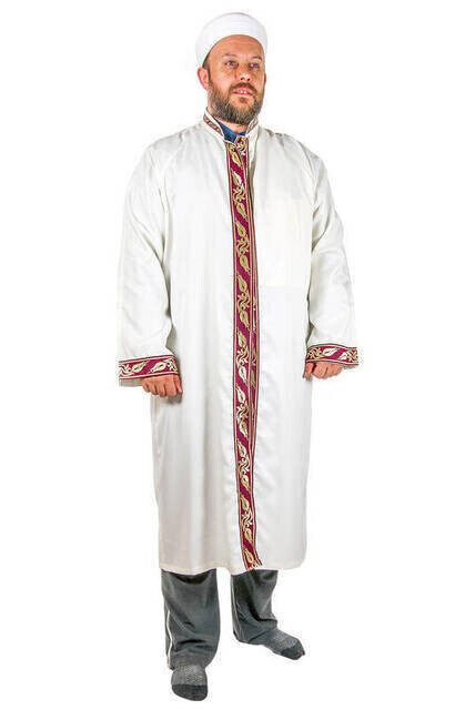 İmam Cübbesi - Namaz Cübbesi - Erkek Namaz Elbisesi 8