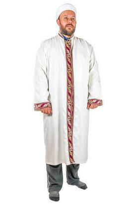 İhvan - İmam Cübbesi - Namaz Cübbesi - Erkek Namaz Elbisesi 8