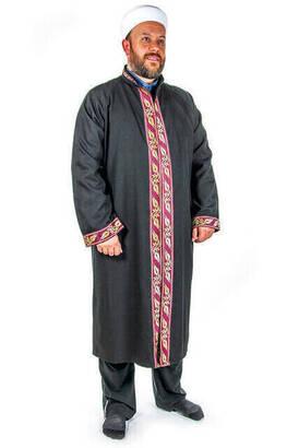 İhvan - İmam Cübbesi - Namaz Cübbesi - Erkek Namaz Elbisesi 9
