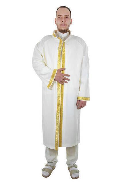 İmam Cübbesi - Namaz Cübbesi - Erkek Namaz Elbisesi