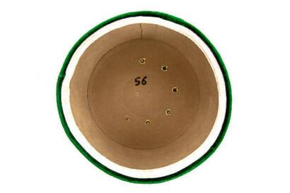 İmam Sarığı - Sultan Sarığı - El Sarması Sarık - Çapraz Sarılmış Sarık - Kadife - Yeşil