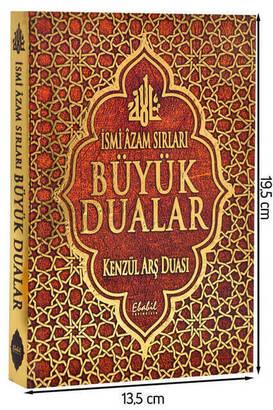 Ebabil Yayıncılık - İsmi Azam Sırları Büyük Dualar Kitabı-1237