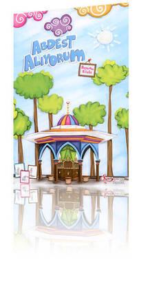 Hayrat Neşriyat - I Take Wudu (Coloring Book) - Religious Educational Book 1182