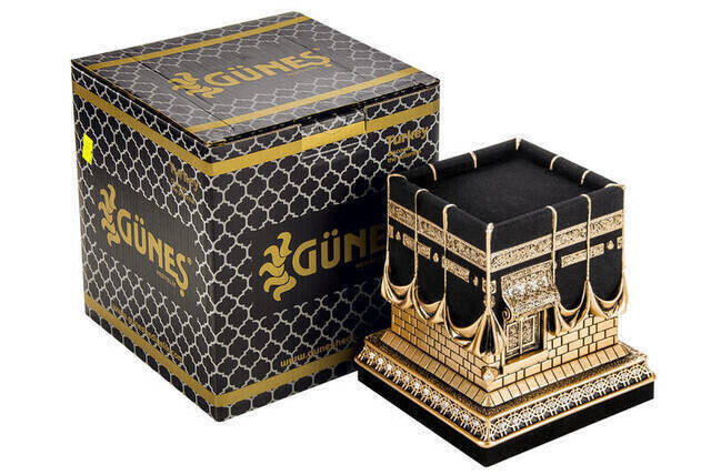 Kaaba Trinket Gold Colored Large