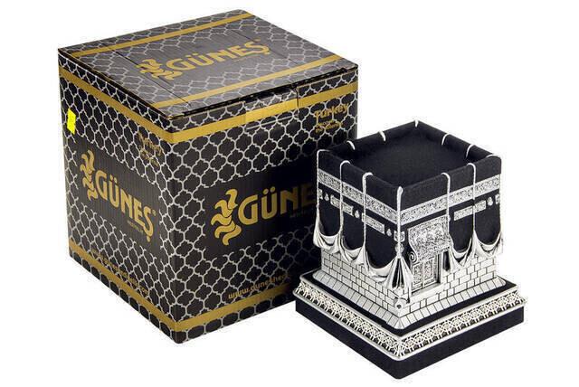 Kaaba Trinket Silver Color Large