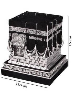 İhvan - Kabe Biblo Gümüş Renkli Büyük