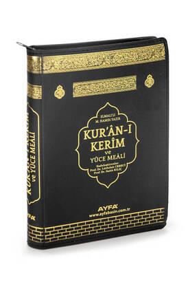 Ayfa Yayınevi - Kabeli Bag Boy Zipper mealli Quran Kerim