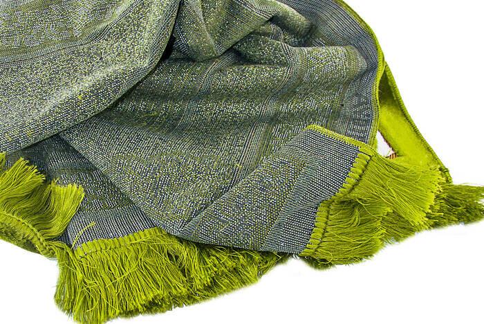 Kadife Seccade Duble Plus - Açık Yeşil Renk