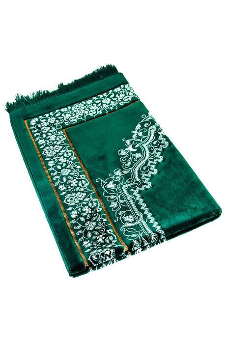 Kadife Seccade Duble Plus - Yeşil Renk