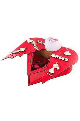 İhvan - Kalpli Açılan Işıklı Seni Seviyorum Aşk Hediye Kutusu Sevgiliye