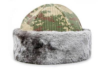 İhvan - Kamuflaj Börk Şapkası - Börk Beresi - Kaşe