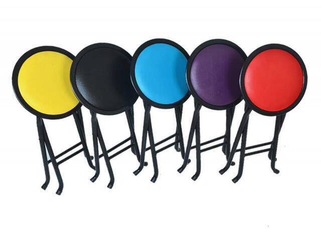 Katlanabilir Namaz Taburesi - Sırtlı Tabure - Piknik Sandalyesi