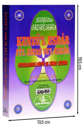 Kenzü'l Esrar Fi'l Havas Ve'l Ezkar Kitabı-1239