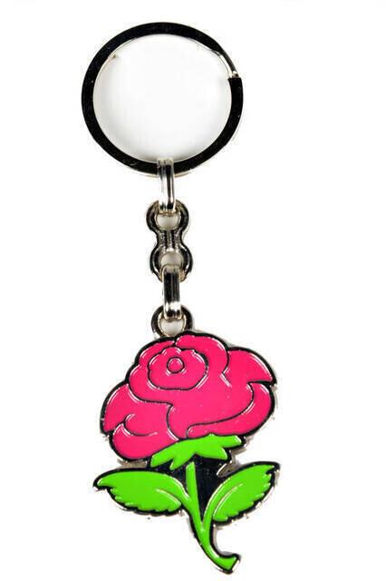 Keychain Rose Pattern -1128