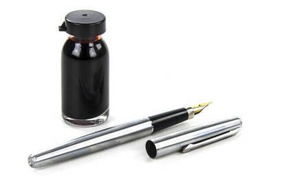 İhvan - Kırmızı Safran Mürekkebi ve Safran Kalemi Seti