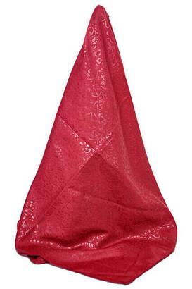 İhvan - Kofra Desenli Kırmızı Baş Örtüsü