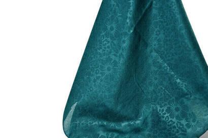 Kofra Desenli Yeşil Baş Örtüsü