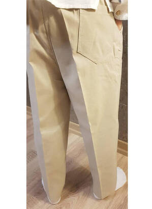 Krem Çocuk Şalvar Pantolon - Hac Umre Kıyafeti