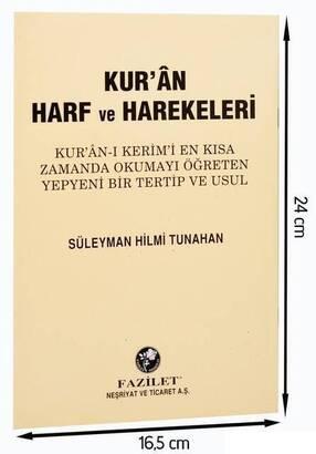 Fazilet Neşriyat - Kur'an Harf Ve Harekeleri-1639