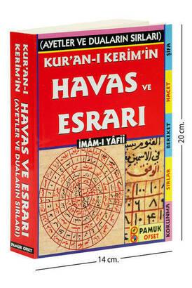 PAMUK YAYINEVİ - Kur'an-ı Kerim' in Havas ve Esrarı-1214