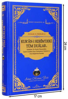 Cübbeli Ahmet Hoca Yayıncılık - Kuran-ı Kerimdeki Tüm Dualar-1119