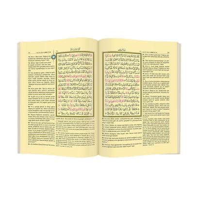 Kuranı Kerim - Arapça ve Meal - Mealli Kuranı Kerim - Bilgisayar Hatlı - Orta Boy - Mühürlü - Hayrat Neşriyat