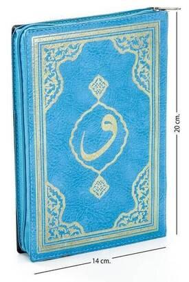 Fetih Yayınları - Kuranı Kerim - Sade Arapça - Hafız Boy - Fetih Yayınları - Mavi - Bilgisayar Hatlı