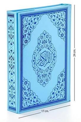 Ayfa Yayınevi - Kuranı Kerim - Sade Arapça - Orta Boy - Sesli - Mavi - Bilgisayar Hatlı