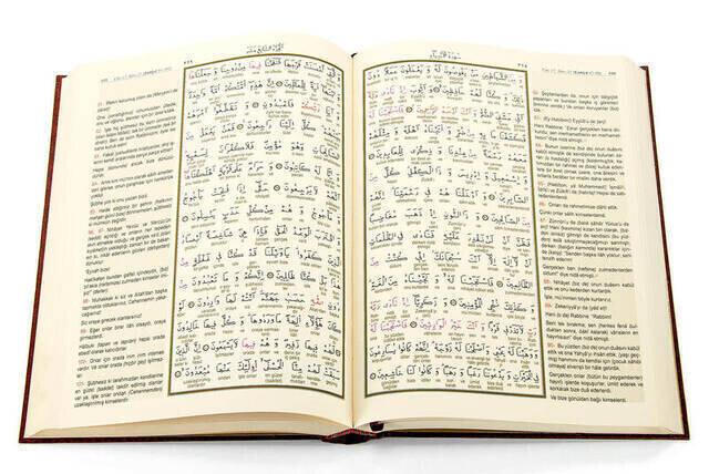Kuranı Kerim ve Muhtasar Kelime Meali - Rahle Boy - Hayrat Neşriyat