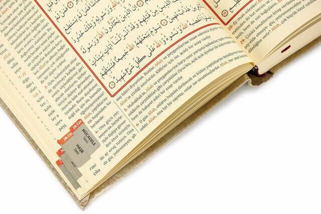 Kuranı Kerim ve Yüce Meali - Arapça ve Meal - Hafız Boy