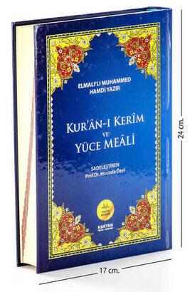 Haktan Yayınları - Kuranı Kerim ve Yüce Meali - Arapça ve Meal - Orta Boy - Haktan Yayınları - Bilgisayar Hatlı