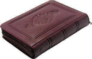 Kuran Karim - Plain Arabic - Pocket Size - Bordeaux - Sheathed - Hayrat Nesriyat - Computer Lined