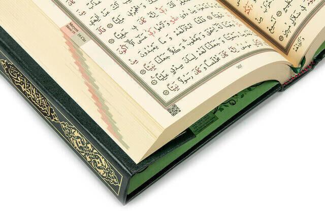 Kuran Karim - Sade Arapca - Hafiz Boy - Hayrat Nesriyat - Computer-Lined