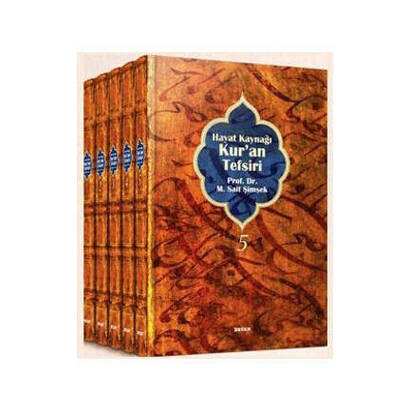 Beyan Yayınları - Life Source Quran Commentary (Sympathetic Size 5 Volumes)