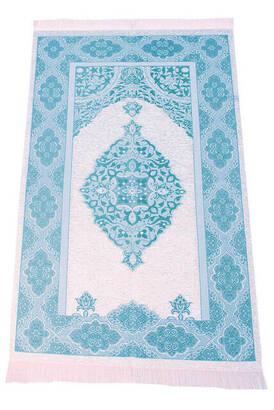İhvan - Lüks Açık Renk Osmanlı Şönil - 0250 Turkuaz