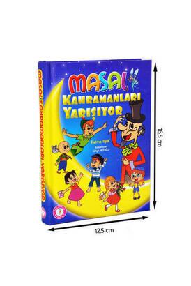 Mavi Lale Çocuksu - Masal Kahramanları Yarışıyor Çocuk Masal Kitabı-1161