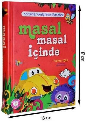 Akvaryum Yayınevi - Masal Masal İçinde Çocuk Eğitici Kitap -1177