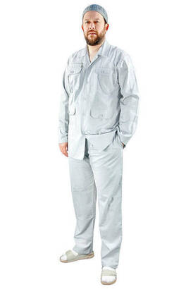 İhvan - Men's Safari Suit Gray - 1174