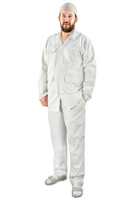 İhvan - Men's Safari Suit Stone Color-1173