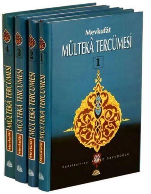 Mevkufat Mülteka Tercümesi - 4 Cilt, Şamua Kağıt-1411