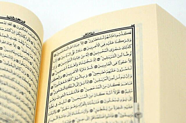 Micro-Koran Karim - Plain Arabic - Computer-Lined