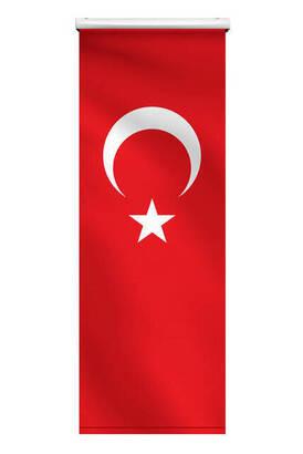 Tevhid Seda - Minber Örtüsü - Storlu Perde - Türk Bayrağı Desenli